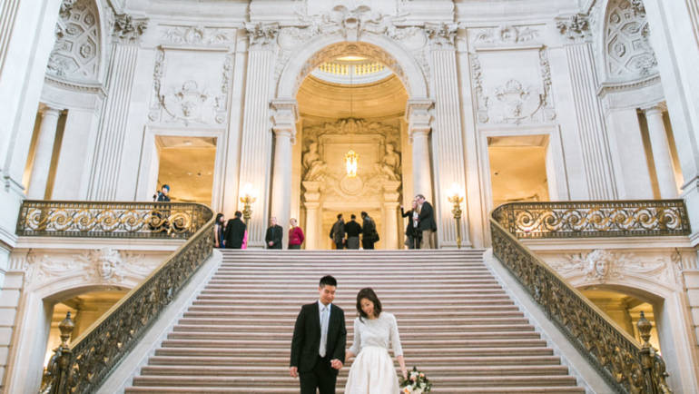 Plan A Picture-Perfect City Hall Wedding